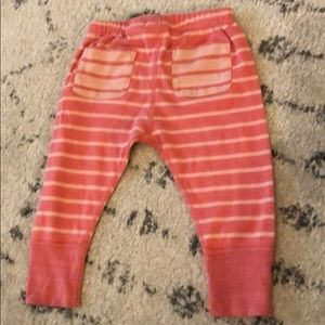 Hanna Andersson Bottoms - Hanna Andersson organic wiggle pants size 75